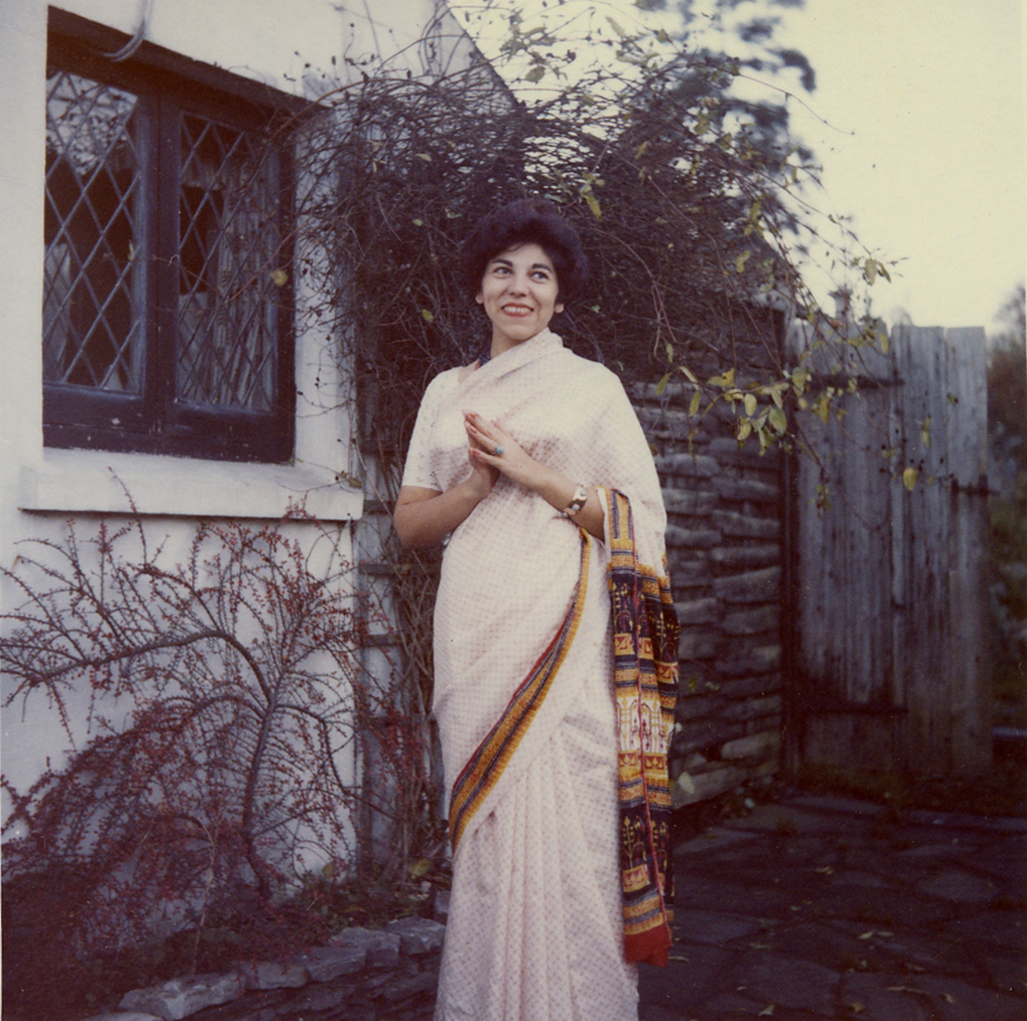 My first sari at Dwan Pouis